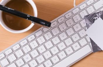 パソコンと珈琲
